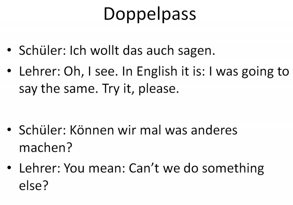 Doppelpass#1
