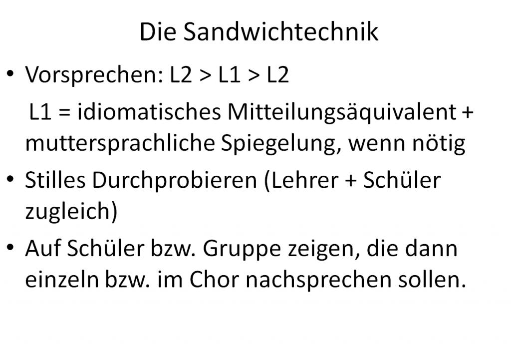 Sandwichtechnik